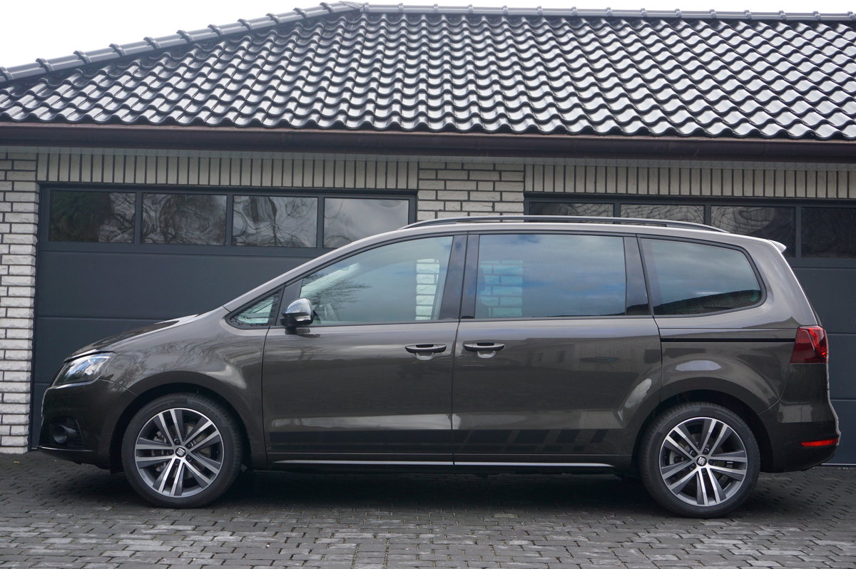 seat alhambra 2 0 tdi dsg fr line 7 tageszulassung. Black Bedroom Furniture Sets. Home Design Ideas