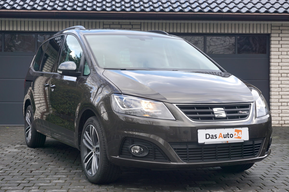 seat alhambra 2 0 tdi dsg fr line 7 tageszulassung van. Black Bedroom Furniture Sets. Home Design Ideas