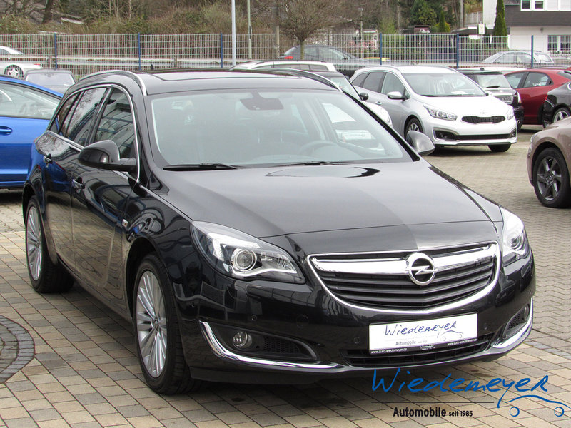 opel insignia 1 6 turbo innovation navi gebrauchtwagen kombi wa 6555. Black Bedroom Furniture Sets. Home Design Ideas